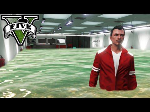 GTA V Online - INUNDACIÓN EN EL GARAJE!! XDDD - NexxuzHD