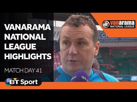 Vanarama National League Highlights Show | Matchday 41