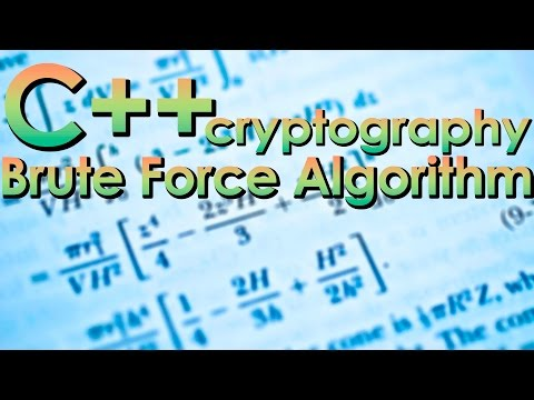 C/C++ Cryptography — Brute Force Algorithm | Crack XOR Cipher