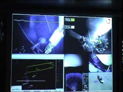 Ehime Maru ROV survey inspection