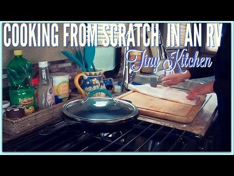 Cooking In An RV Kitchen | Tiny Kitchen | Chicken Recipe