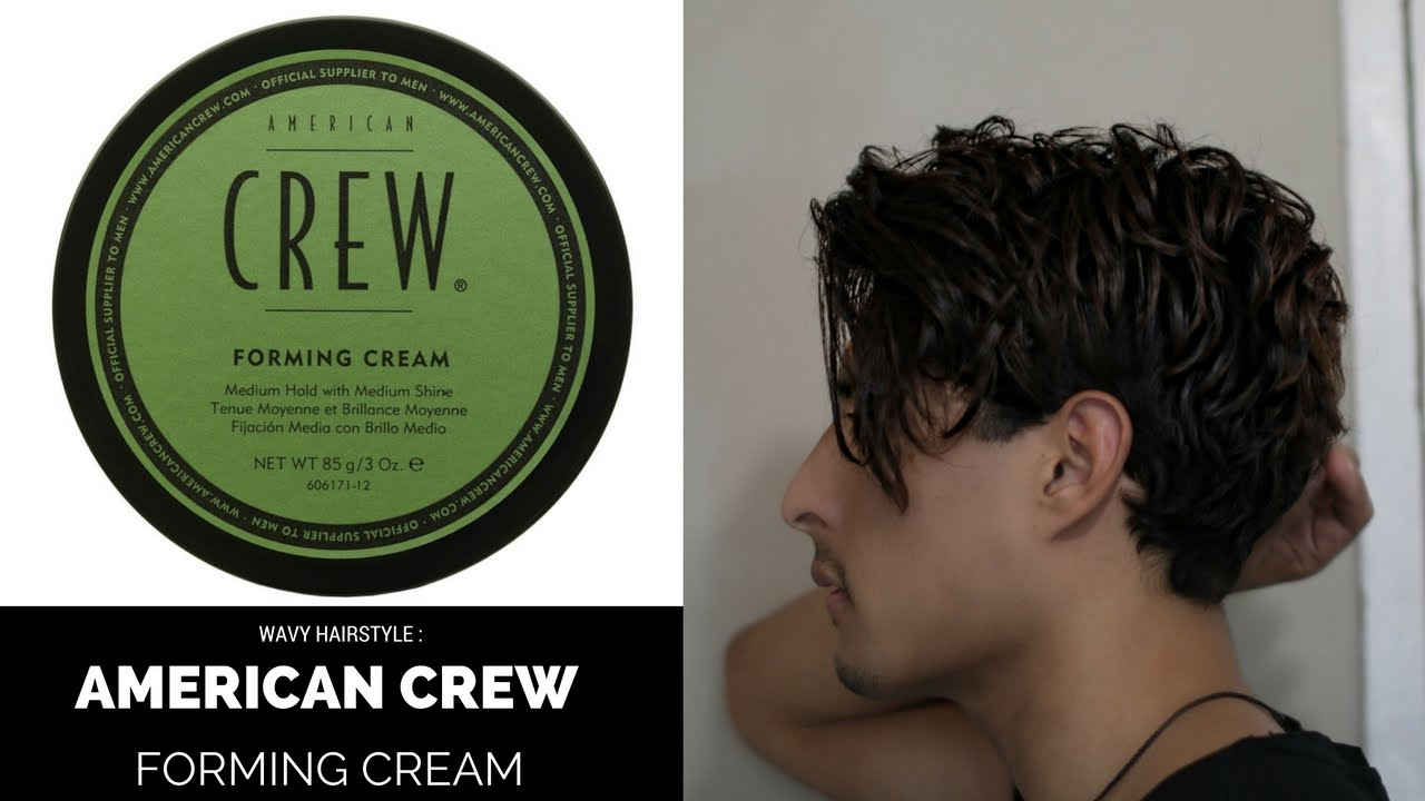 American Crew Forming Cream | Undercut Hairstyle - YouTube
