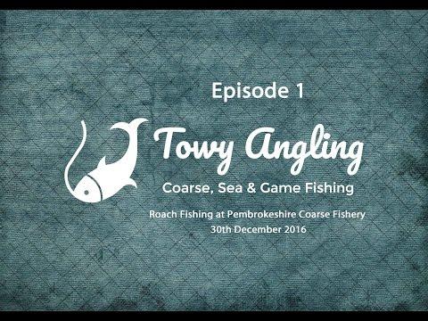 Vlog 1 - Roach Fishing At Pembrokeshire Coarse Fishery 30th Dec 2016