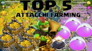 Clash Of Clans Kai ITA: Top 5 Attacchi Farming!