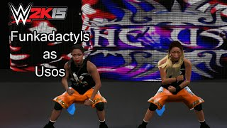 WWE 2K15 PC Mod - The Funkadactyls as The Usos