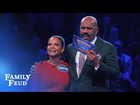 Christina Milian † s Fast Money! | Celebrity Family Feud