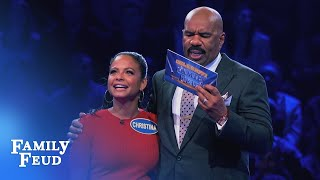 Christina Milian's Fast Money! | Celebrity Family Feud