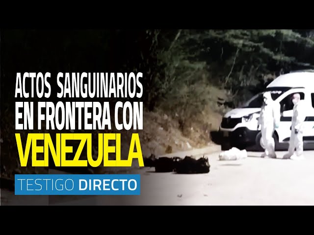 Contra el crimen en frontera colombovenezolana  - Testigo Directo HD