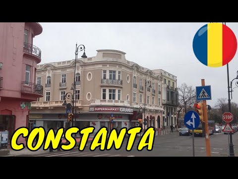 CONSTANTA TOWN CITY BREAK TRAVEL GUIDE TOUR VACATION ROMANIA VIDEO
