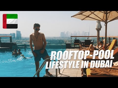 Der coolste Rooftop-Skyline-Pool in Dubai! (Business-Cheatday)