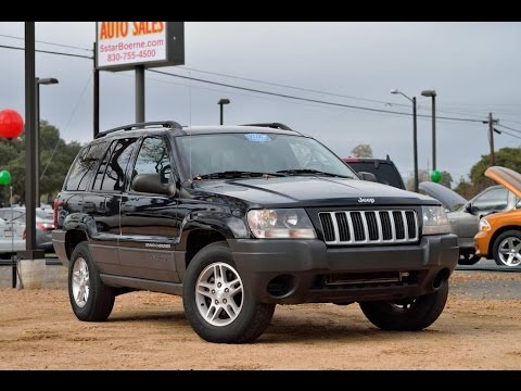 2004 Jeep Grand Cherokee Laredo Review