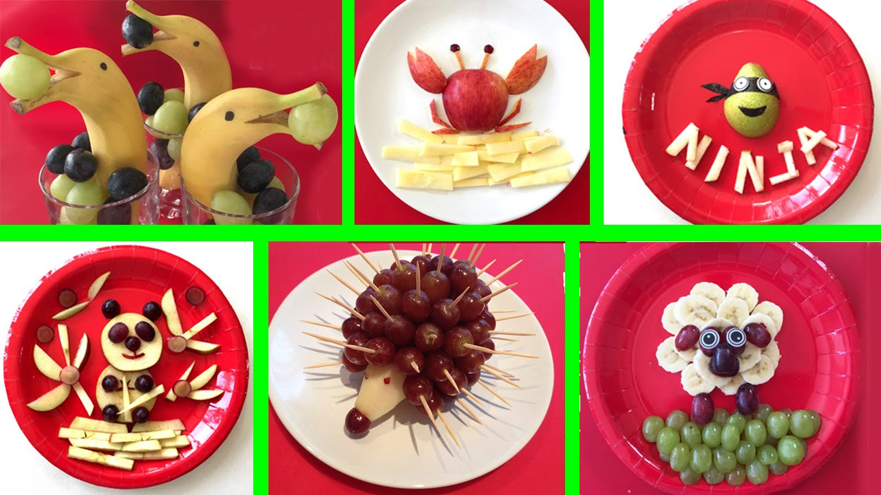 Meriendas f ciles y originales 6 recetas con fruta youtube for Comidas originales y faciles