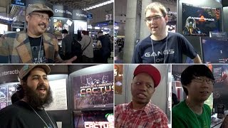 Indie Game Developers at Tokyo Game Show 2014