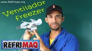 Como ligar ventilador freezer 110 e 220 volts