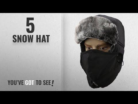 d1a33c3f8 Top 10 Snow Hat [2018]: Warm Unisex Winter Trapper Trooper Hat ...