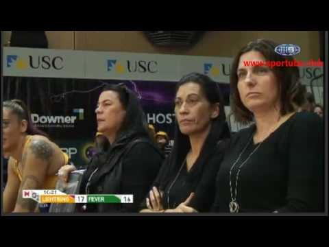 Suncorp Super Netball-Sunshine Coast Lightning W-West Coast Fever W- AUSTRALIA-Round 12
