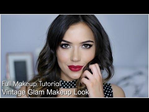 Vintage Glam Makeup Tutorial | TheMakeupChair
