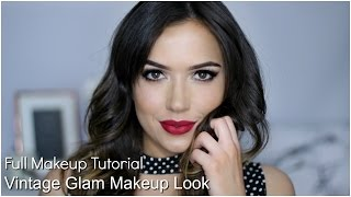 Vintage Glam Makeup Tutorial | TheMakeupChair