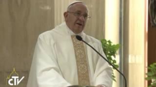 """""""Il cristiano è un uomo o una donna che sa vigilare il suo cuore"""".Omelia di Papa Francesco 7.01.2014"""