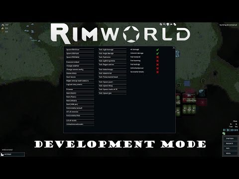 Image result for rimworld cheats dev mode