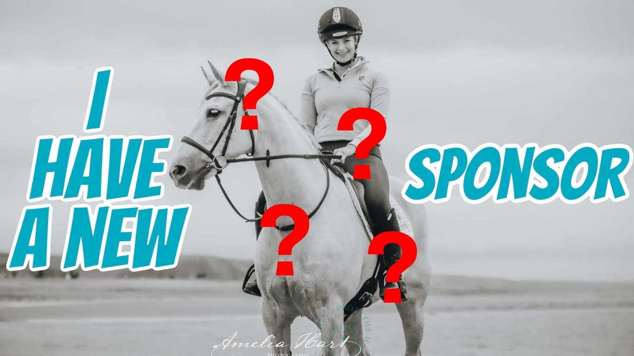 NEW EQUESTRIAN SPONSOR REVEAL ~The worst kept secret is out