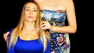 😍Beautiful ASMR Head Massage, Hair Play, Hair Brushing, Scalp Massage, Whispering