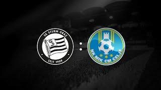 Spielaufzeichnung: Sturm Graz 3:0 NK Celje (1:0)