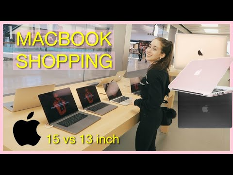 Macbook Pro Shopping At The Apple Store | USA Shopping Pt 2