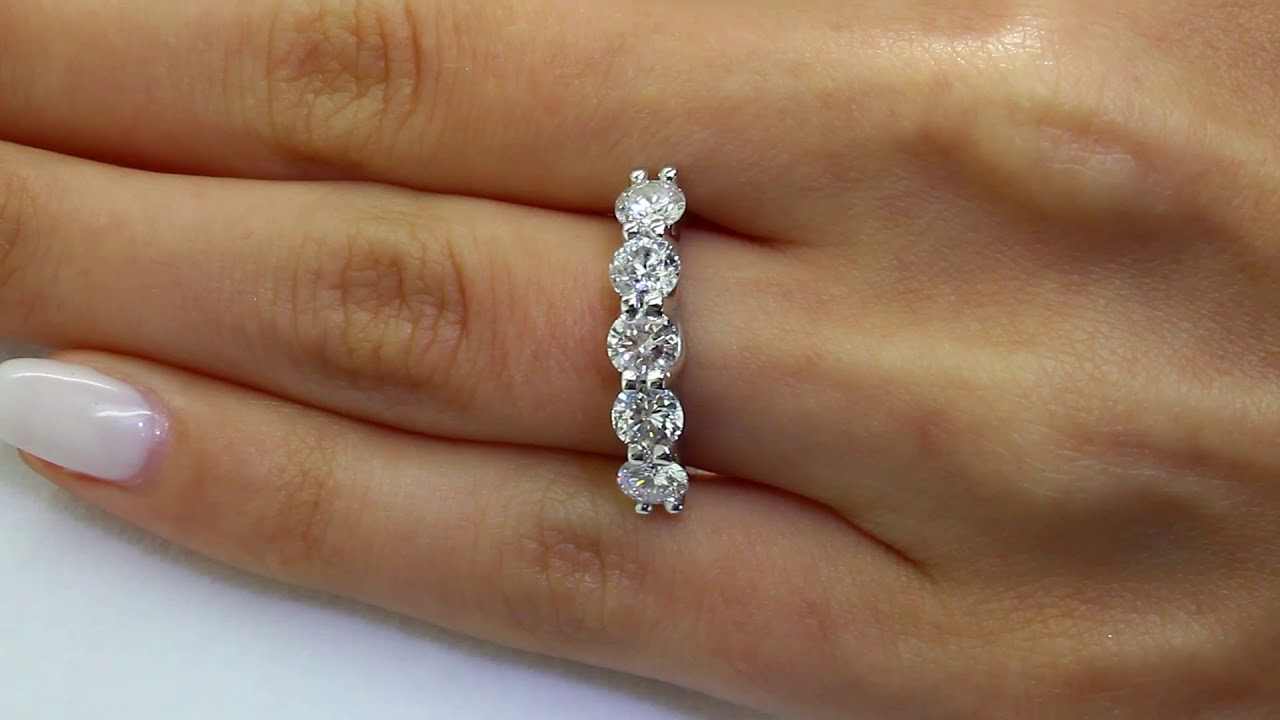 alt gold bands cut prong set stone round products diamond new side ring diamonds band setra wedding
