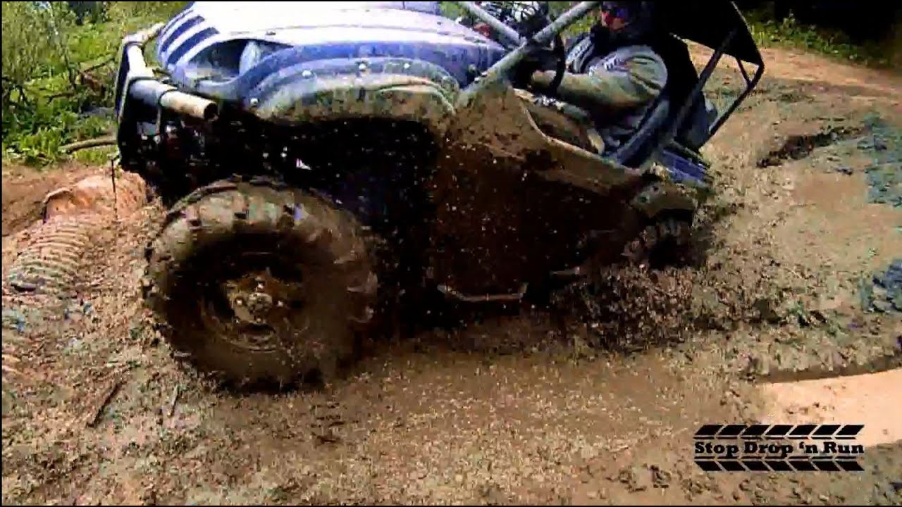 Yamaha Rhino 4 Seater Mudding 4x4 Side By Side Mud Pit
