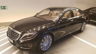 Unboxing of 1:18 Mercedes-Benz S-CLASS S550 BLACK by NOREV