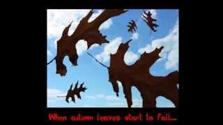 Frank Sinatra Autumn Leaves With Lyrics