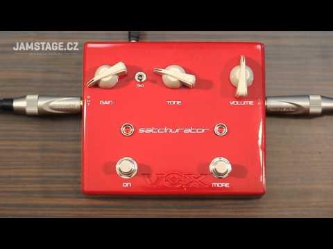 VOX Joe Satriani Satchurator Distortion Pedal (Aivn)