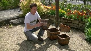 Timber Garden Planter Set
