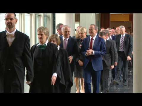 45th Australian Parliament Opened (Aug 30, 2016)