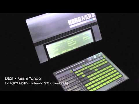 KORG M01D for Nintendo 3DS, Surprising Mobile Music