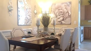 Dining Room Decorating Ideas|Glam Tour
