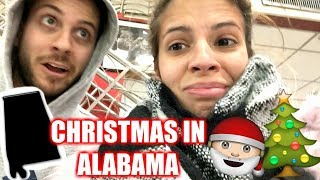 CHRISTMAS IN ALABAMA + NEW YEARS EVE VLOG 2017