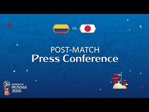 FIFA World Cup™ 2018: Colombia v. Japan - Post-Match Press Conference