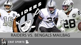 Raiders vs. Bengals: Josh Jacobs, Tyrell Williams, Maxx Crosby & Clelin Ferrell Projections Mailbag