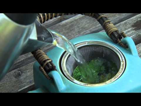Brewing Tea with Fresh Herbs