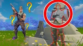 ICH BIN EIN STEIN CHALLENGE! | Fortnite Battle Royale
