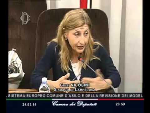 Roma - Audizione Sindaco di Lampedusa (24.06.14)
