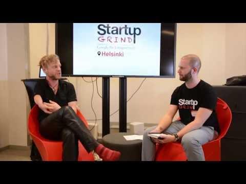 Marc Dillon (Jolla) at Startup Grind Helsinki