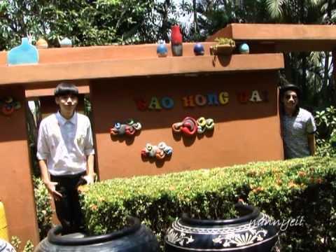 Kacha Ton ถ่ายรูปโปรโมท AF10 ราชบุรี [Tao Hong Tai] ร้านกาแฟ