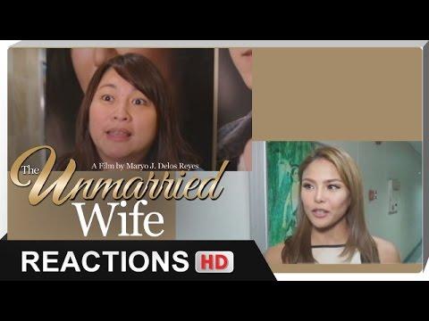 Reactions - Direk Mae Cruz-Alviar, Gretchen Fulido - 'The Unmarried Wife' - 동영상