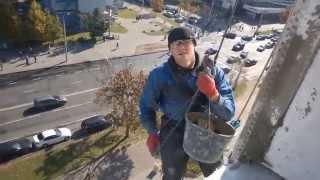Утепление квартиры / Промышленный Альпинизм  / Warming of the apartment Industrial Mountaineering(, 2014-10-04T06:29:21.000Z)