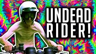 HAPPY WHEELS MEETS ZOMBIE? // UNDEAD RIDER