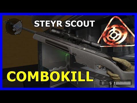 [Warface] Combo Kill Steyr Scout FFA Motel! EXTRA