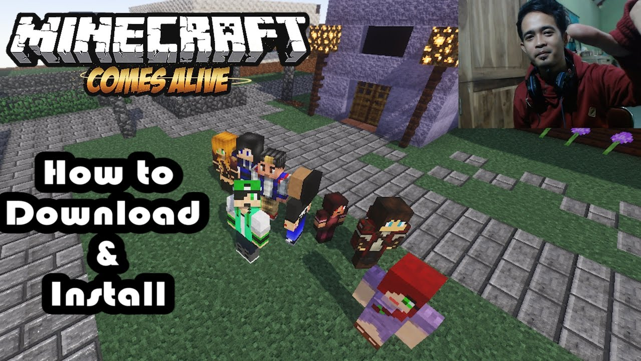 Minecraft comes alive mod download for minecraft 1. 7. 2.